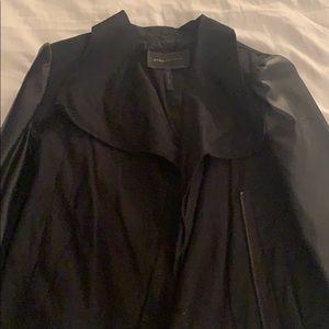 BCBG black cropped jacket